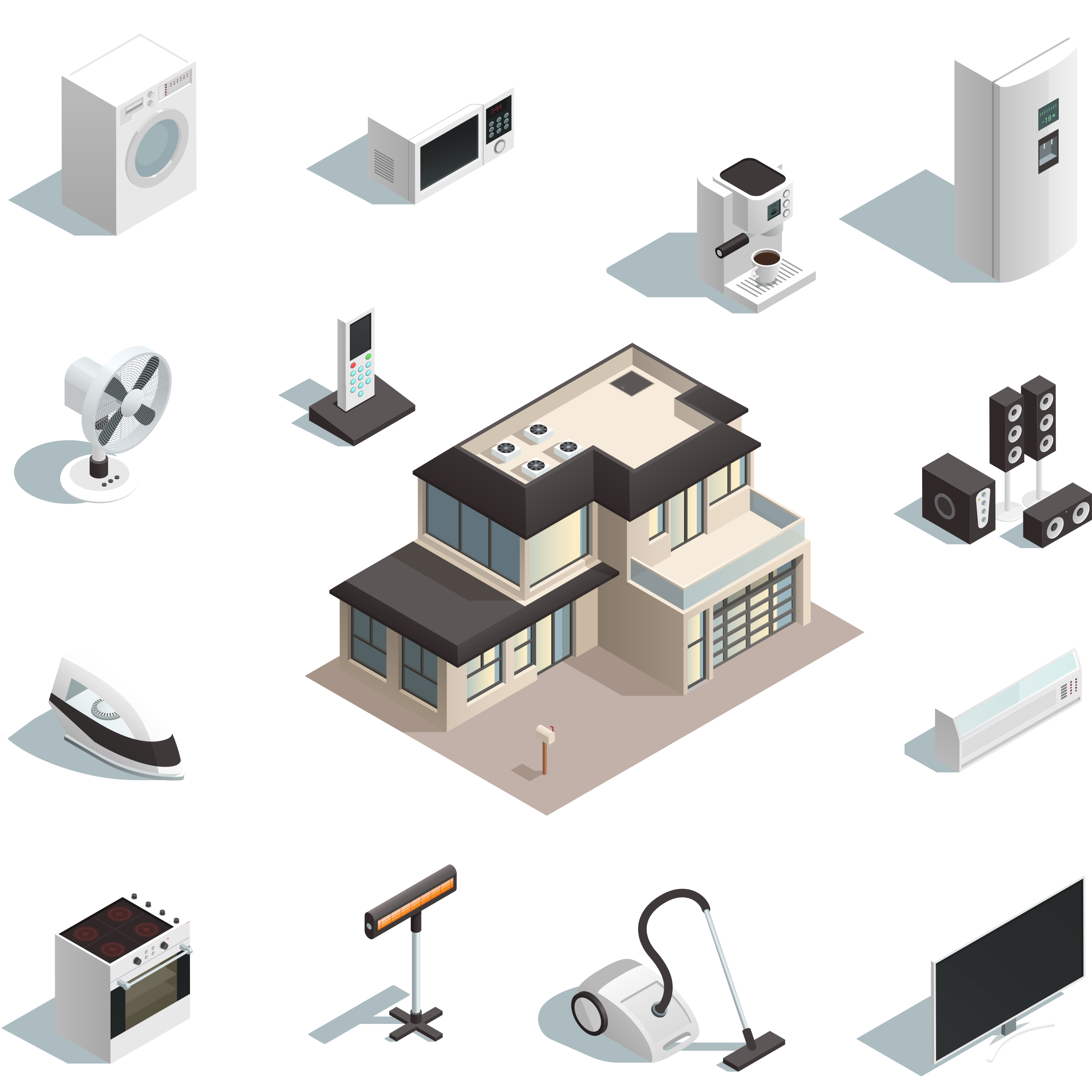تجهیزات برقی و لوازم خانگی