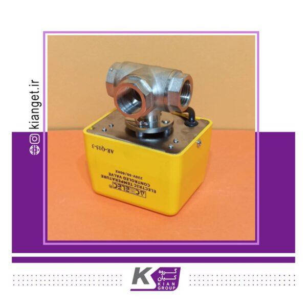Gradual three-way solenoid valve 2
